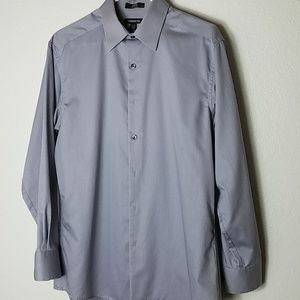 Claiborne Slim Fit Men's Dress Shirt Sz M
